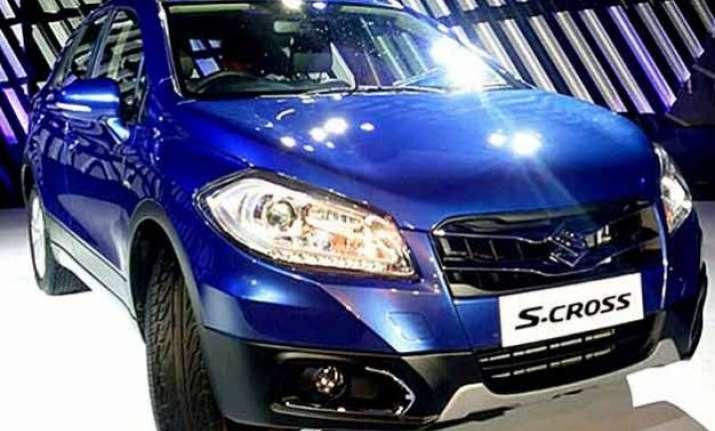 maruti suzuki launches premium cross over vehicle s cross