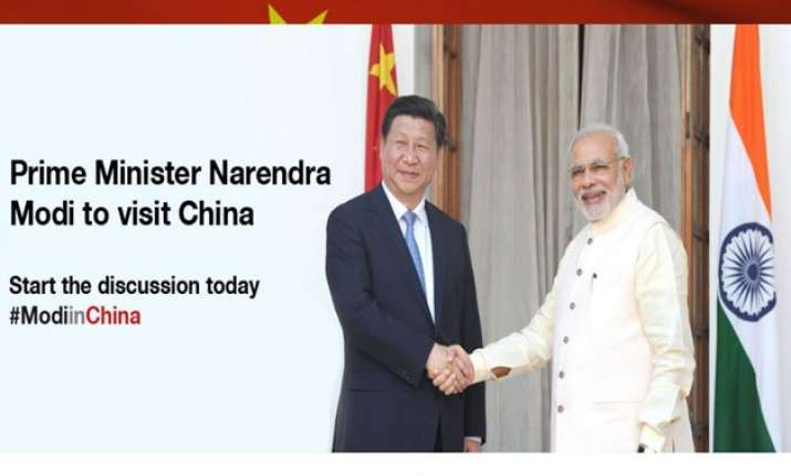pm narendra modi launches webpages for three nation asian