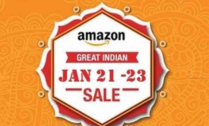 amazon india announces great indian sale starting january 21
