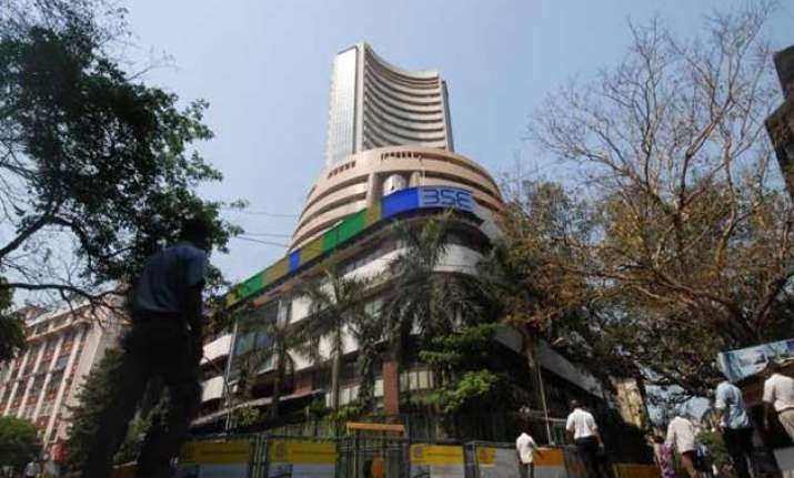 bse sensex logs best fiscal year gain since 2009 10