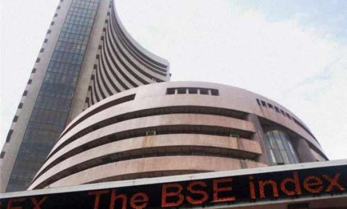 sensex slides 261 pts in early trade ahead of iip cpi data