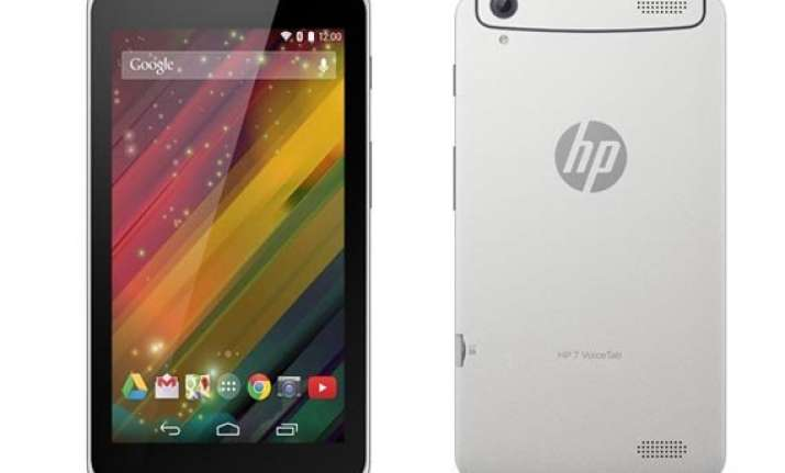 hp 7 voicetab with android 4.4.2 kitkat launched at rs 10