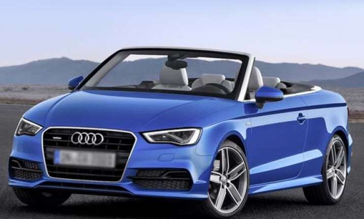Audi A3 Cabriolet Launched For Rs 4475 Lakh India News India Tv