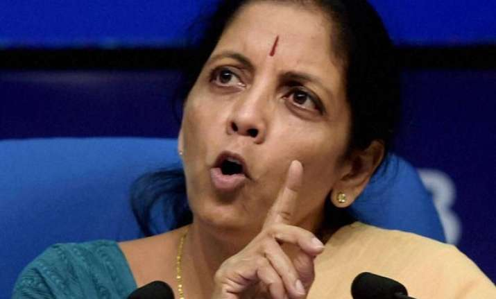 foreign investment caps remain in bank defence nirmala