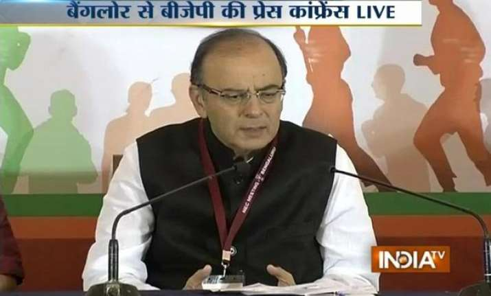 jaitley leaves for us tomorrow to attend imf world bank meet