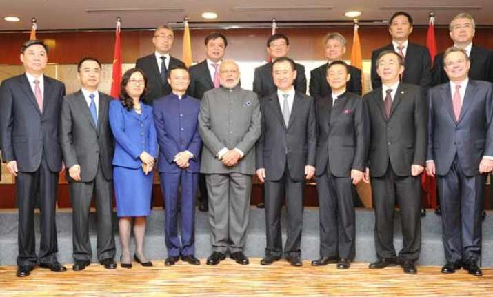 list of all 22 chinese ceos who were present at the india