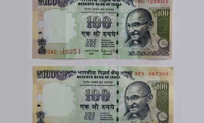rbi issues rs. 100 notes with new numbering pattern