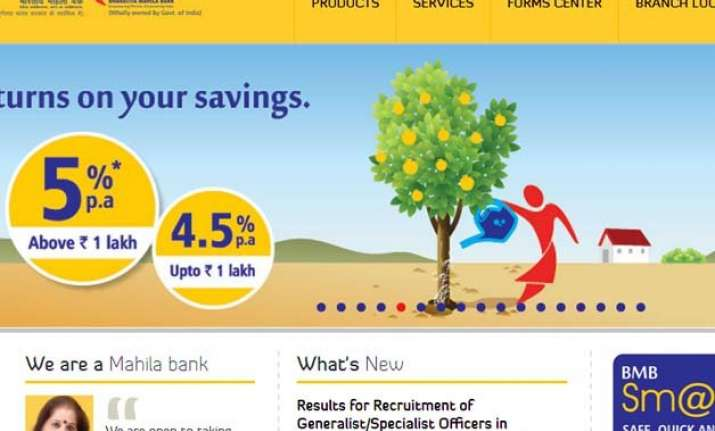 mahila bank will have 80 branches pan india by march