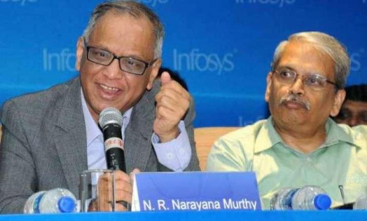 narayana murthy gopalakrishnan bid farewell to infosys