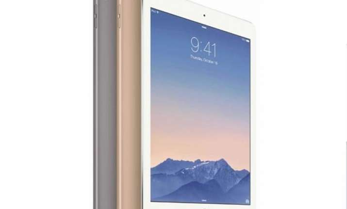 apple unveils new ipad air 2 ipad mini 3 imac with 5k