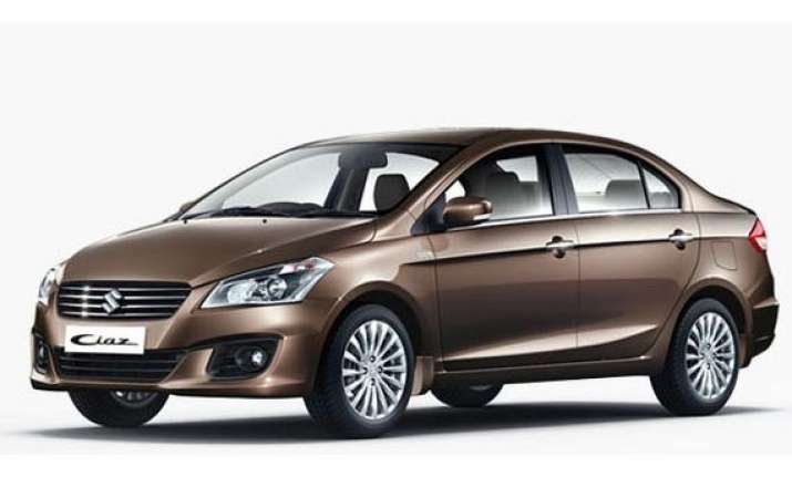 maruti ciaz launched at rs 6.99 lakh