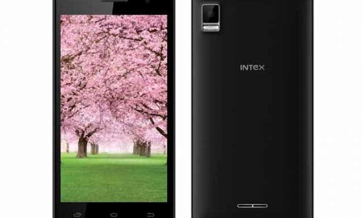 intex aqua hd 5.0 and aqua y2 smartphones now available