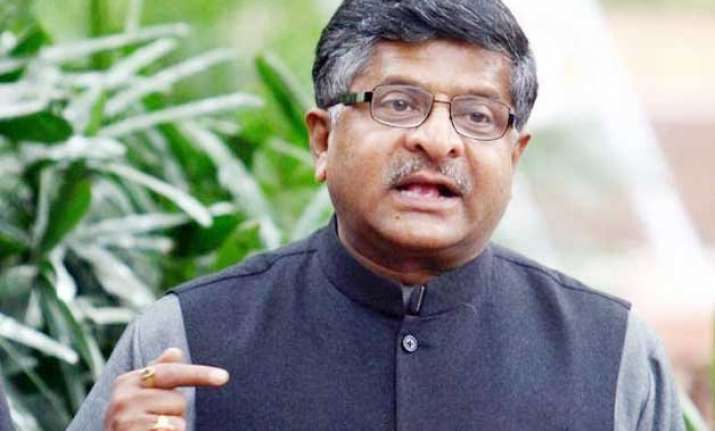ravi shankar prasad says telecom auction may fetch over rs.