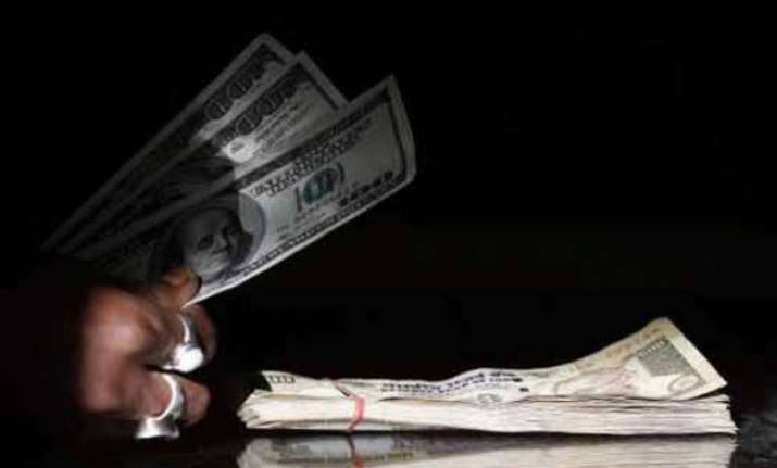 rupee plunges to over 3 month low of 63.32 vs dollar