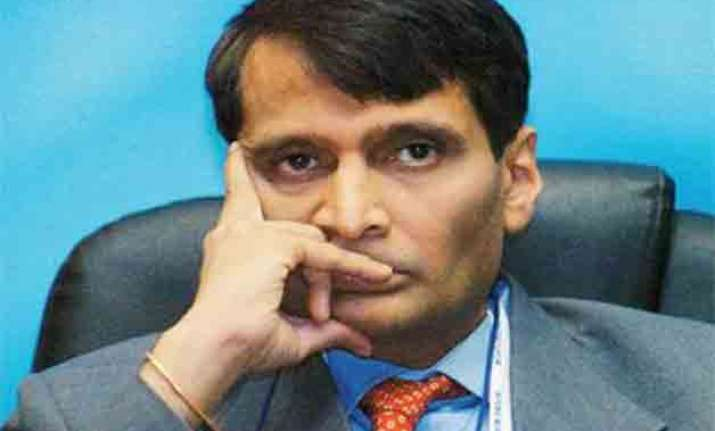 budget2015 smooth ride for suresh prabhu and his maiden