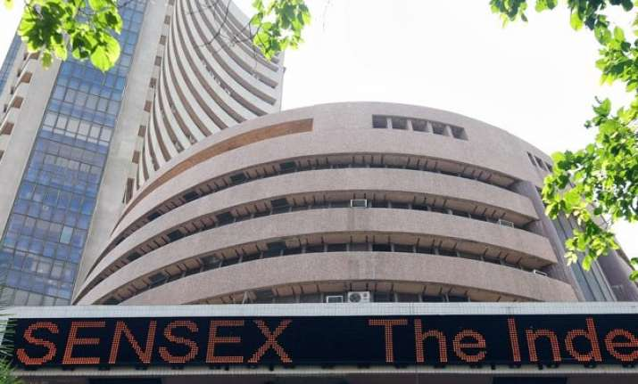 sensex soars 325 points in early trade on global cues