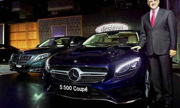auto expo 2016 all new mercedes benz s class cabriolet