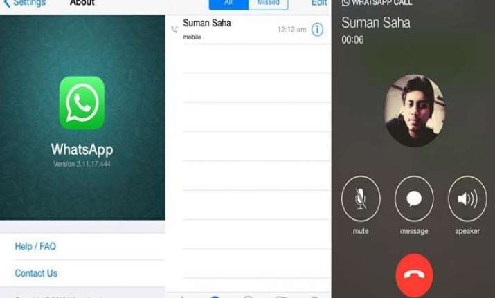 whatsapp voice calling for iphone coming soon co founder