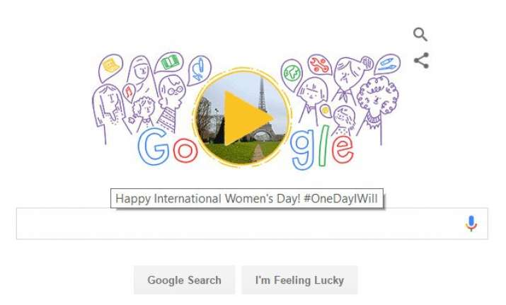 international women s day 2016 google doodle celebrates