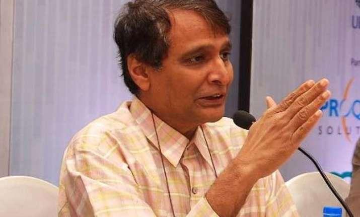 indian economy can double in three years suresh prabhu