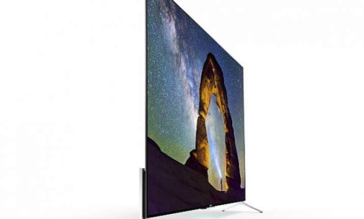sony launches android tv based 4k bravia lcd tvs at ces 2015