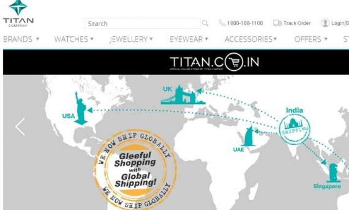 titan to offer international shipping of jewellery products