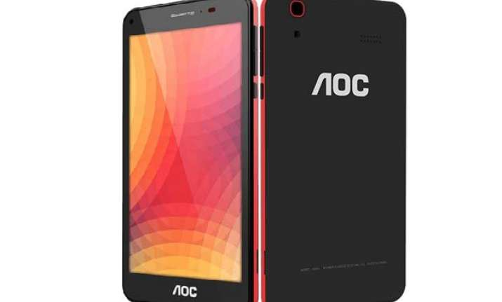 taiwan s aoc enters indian market launches affordable