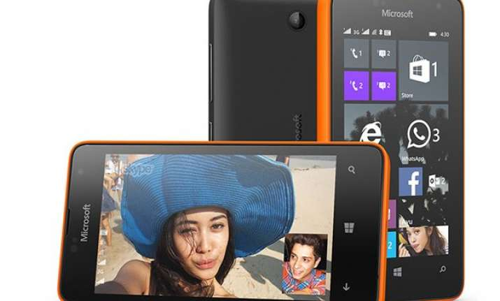 microsoft lumia 430 dual sim launched