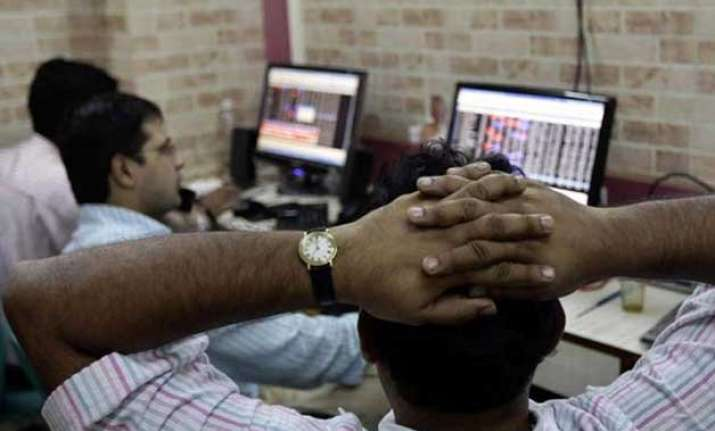 sensex nifty drop to over one month lows ahead of fed