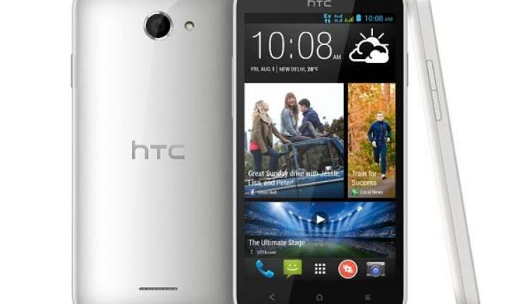 htc desire 516c with quad core soc launched at rs 12 990