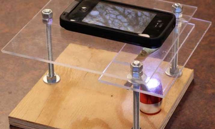 you can now turn your smartphone into a microscope