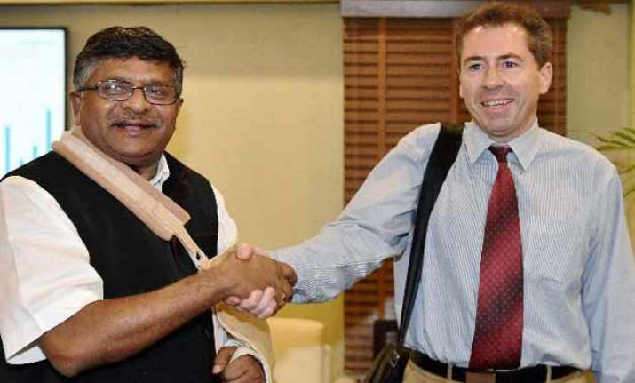ravi shankar prasad wants apple to set up r d facility in