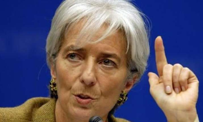 india a bright spot in slowing world economy imf chief