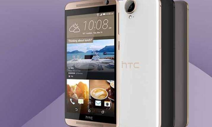 htc one e9 listed on company website