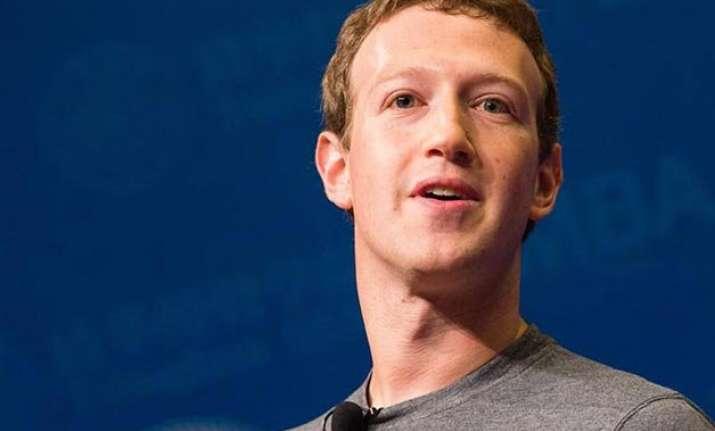 mark zuckerberg to hold town hall meet at iit delhi today
