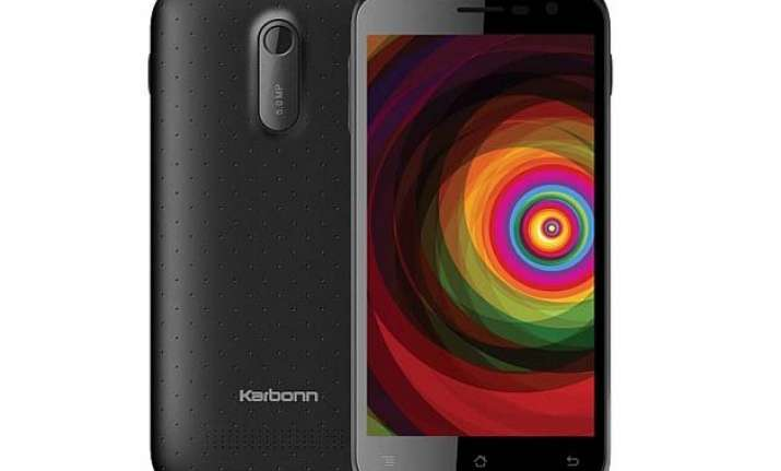 karbonn titanium dazzle launched at rs 5 490