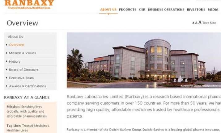 ranbaxy posts rs 477.75 cr net profit in q2