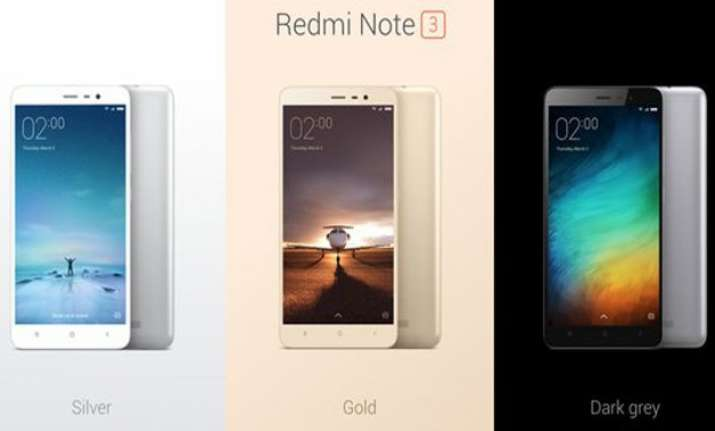 xiaomi launches redmi note 3 starting at rs. 9 999 have a