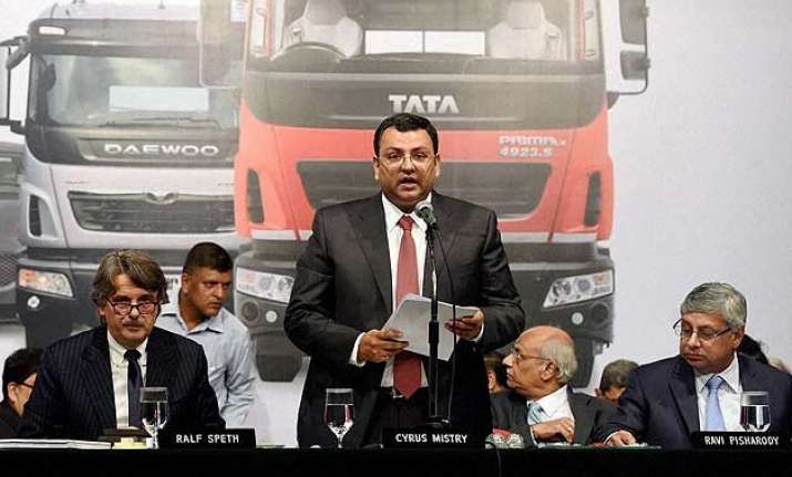 tata motors cyrus mistry says pained for not paying dividend