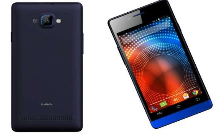 lava iris 444 is now available online at rs 3 199