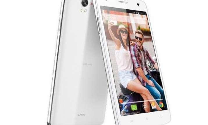 lava launches iris x1 selfie smartphone