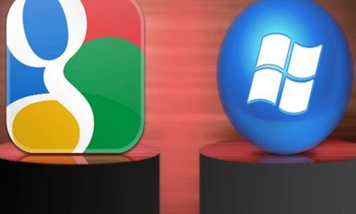 google microsoft end patent litigations