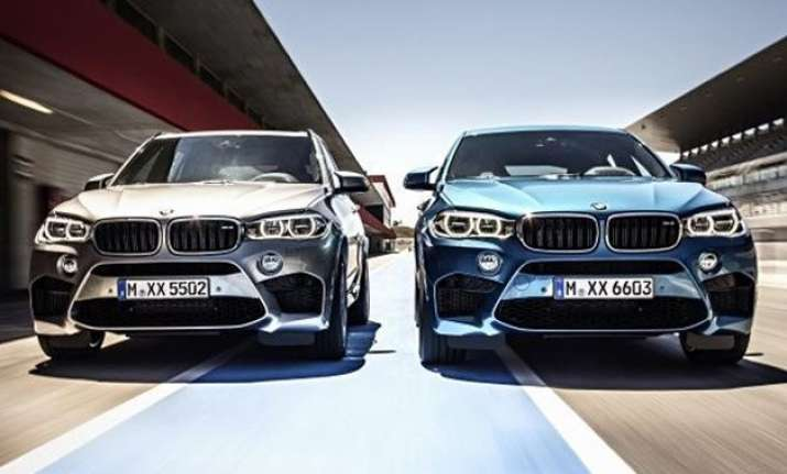 bmw launches two sports cars x5 m x6 m