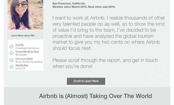 Us Woman Airbnb Resume India Tv News India News India Tv