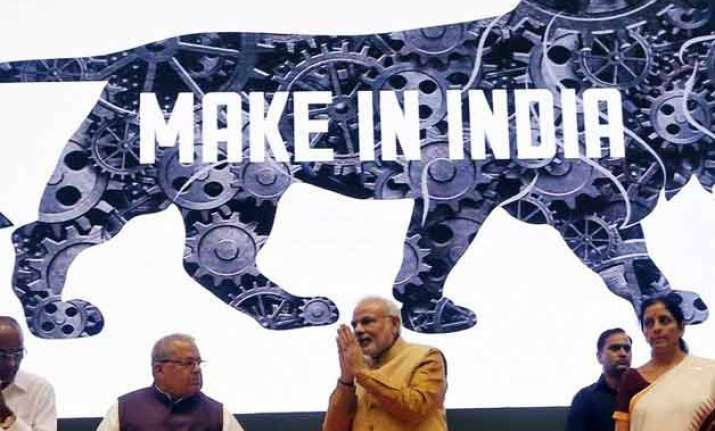 union budget 2015 make in india high on priority