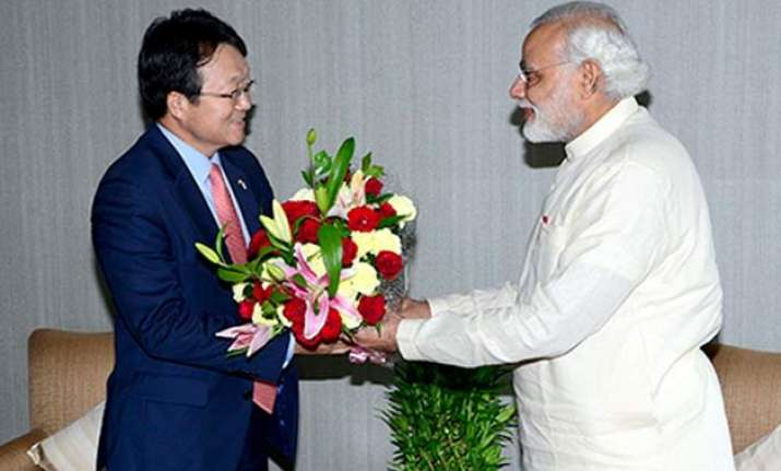 south korea offers 10 bn fund for pm modi s projects korean