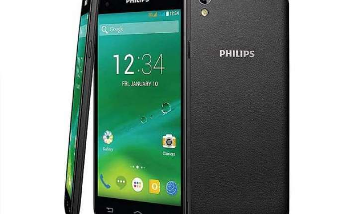 philips launches new smartphones