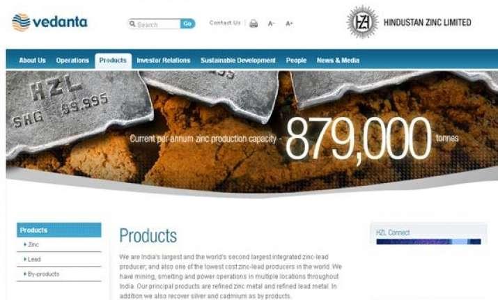 hindustan zinc posts 33 rise in net profit