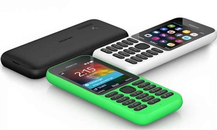microsoft unveils nokia 215 an internet phone with 29 day
