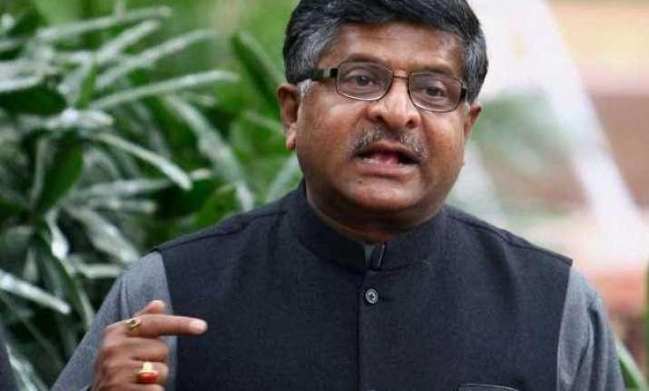 digital india to transform country ravishankar prasad